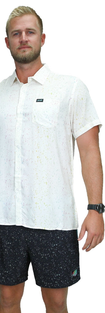 White Moon Slunks Button Down - SLUNKS