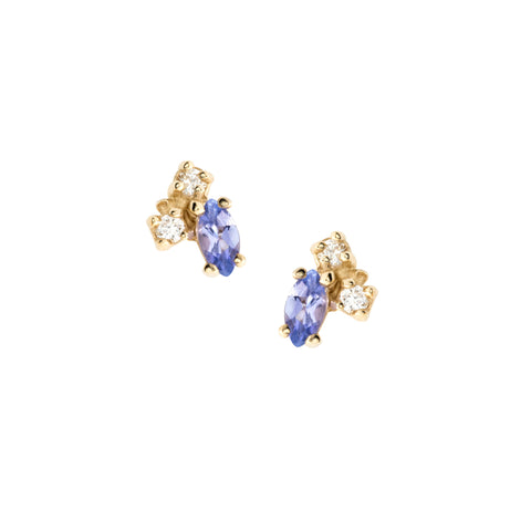 Birthstone Studs, December