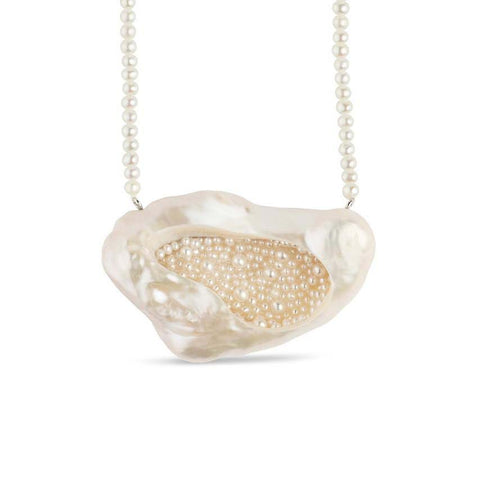 Souffle Pearl Finestro Necklace