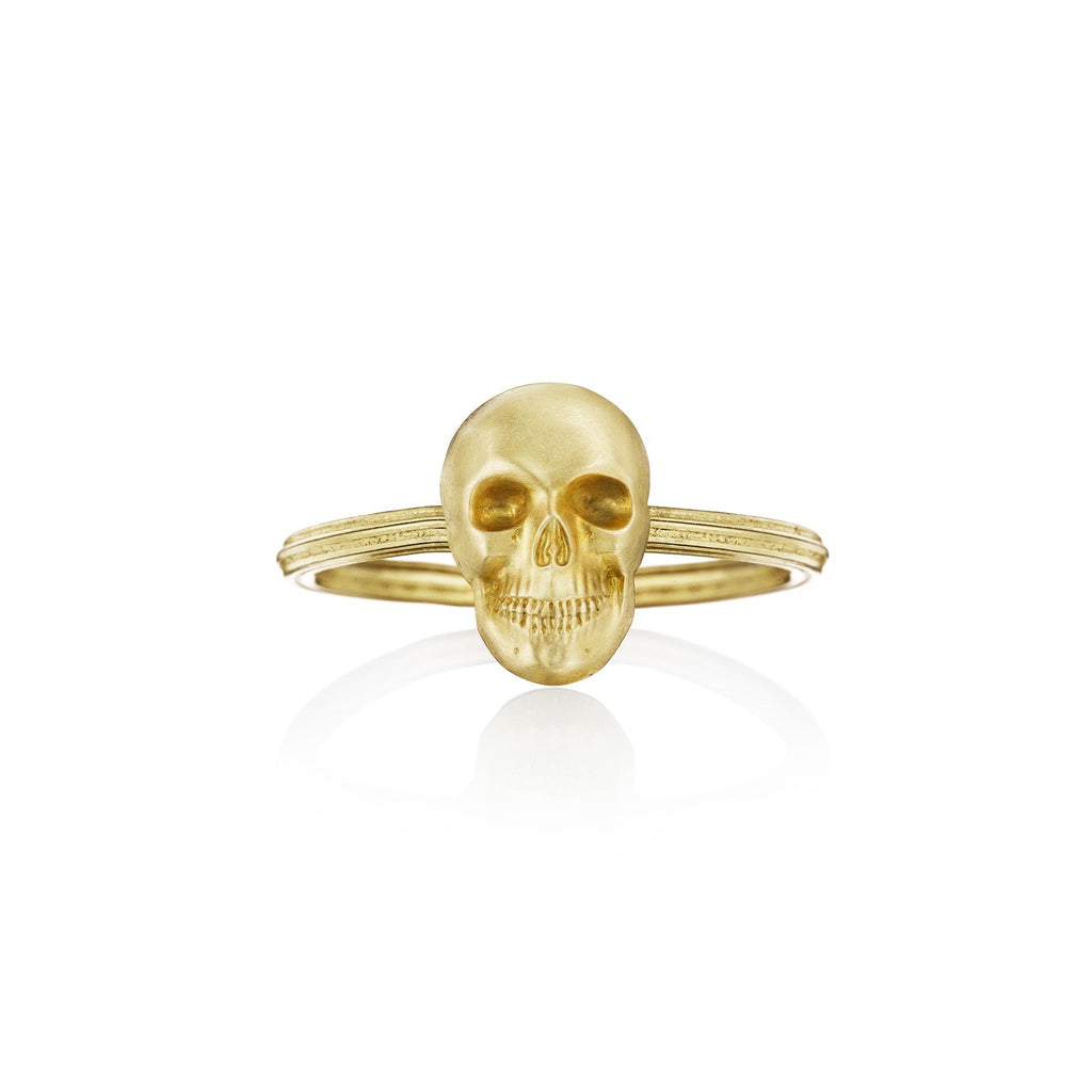 Memento Mori Stacking Ring