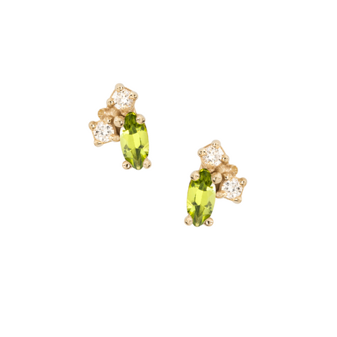 Birthstone Studs, August