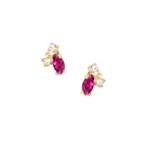 Birthstone Studs, July