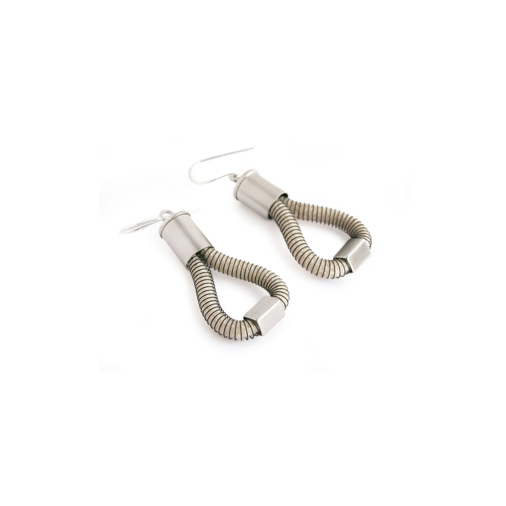 Molly Earrings, White