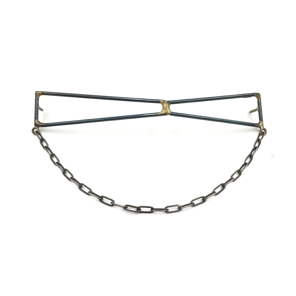 Foundation Strut Collar Pin With Chain