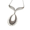 Large Teardrop Necklace
