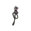 Tourmaline Serpentine Brooch