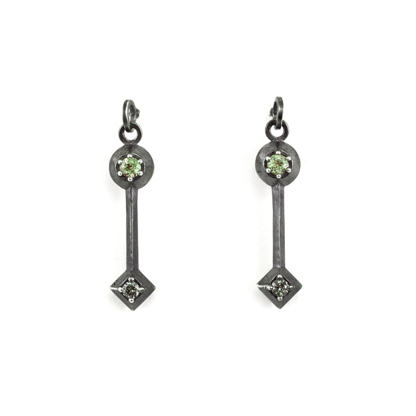 Illusion Unbalanced Earrings