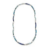 Single Row Necklace, Blue