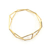 Foundation Strut Bangle, Gold