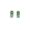 Two Stone Studs, Chrysoprase