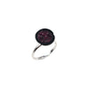 Tahitian Baroque Pearl Geode Ring, Ruby