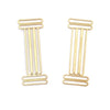 Intersecting Column Earrings