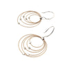 Convergence Earrings, Gold/Siver