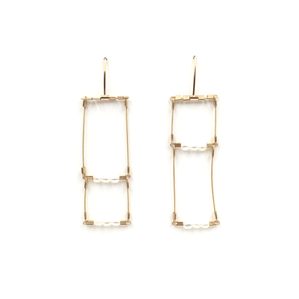 Offside Pearl Earrings