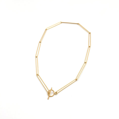 Link Collar, Gold