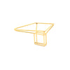 Gold Foundation Trapezoid Ring