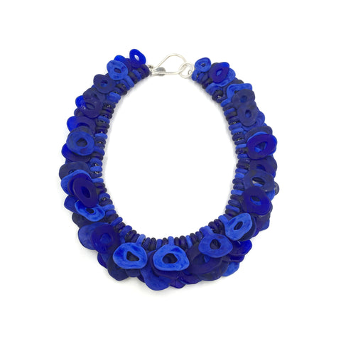 Cobalt Loop Necklace
