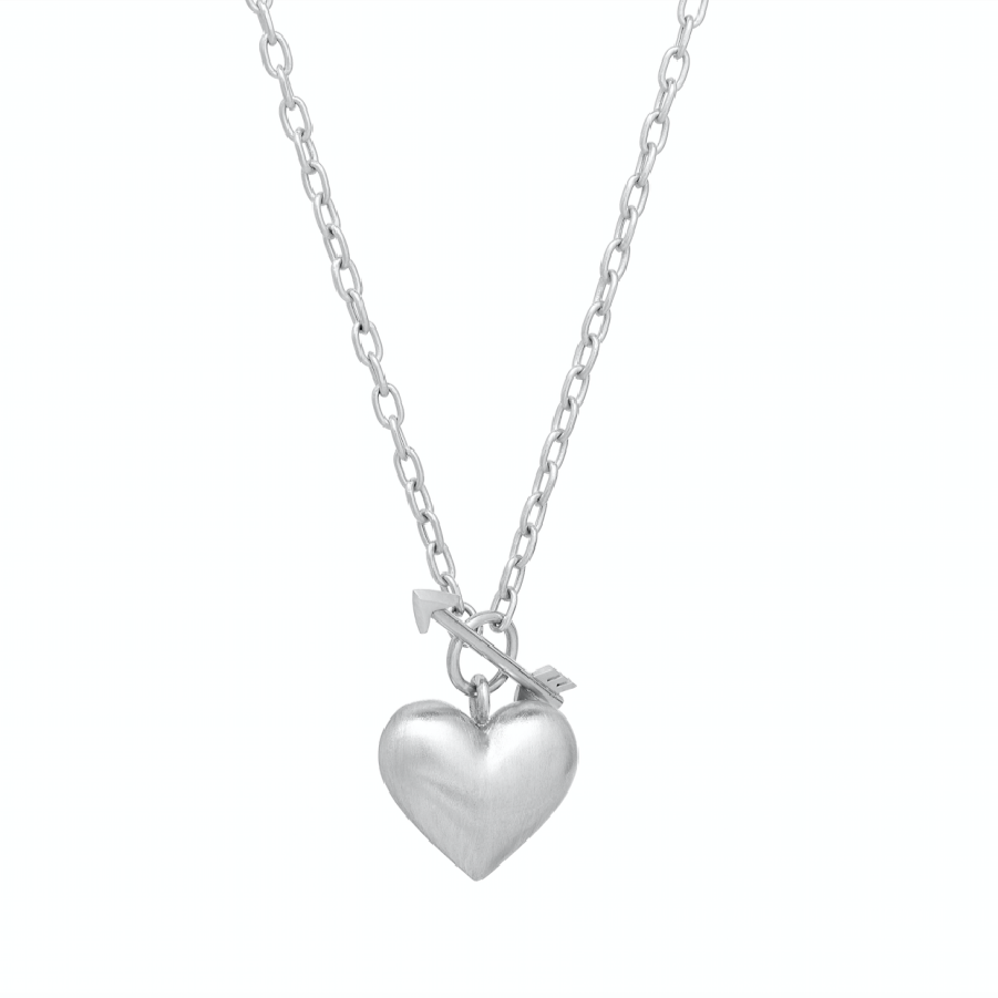 Cupid's Heart Necklace, Medium