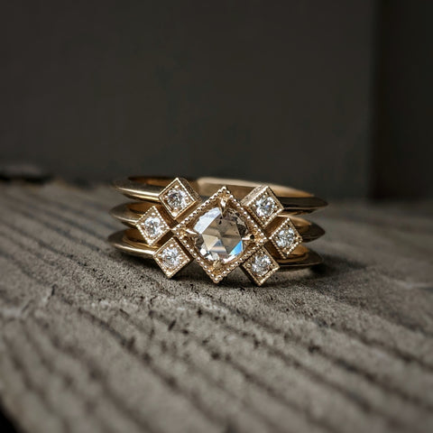 Celeste Claire Ring Set