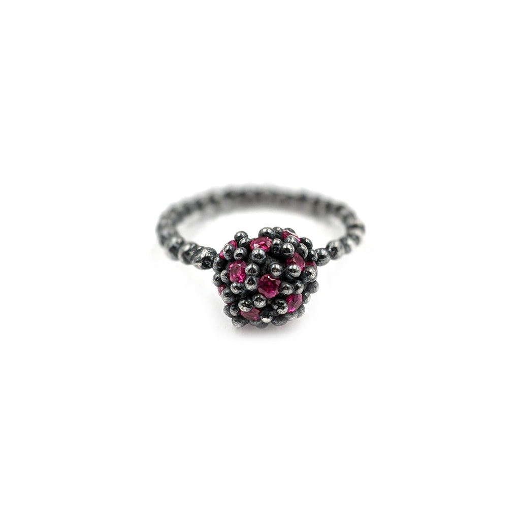 Encrusted Berry Ring