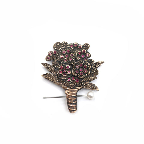 Nosegay Boutonniere Brooch