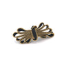 Flourish Pin, Gold