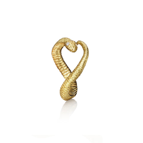 Gold Serpent Ring
