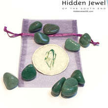 Load image into Gallery viewer, healing Stone Tumbles- Green Aventurine