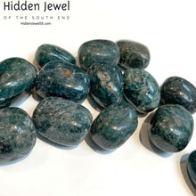Load image into Gallery viewer, Blue Apatite Healing Stone Tumbles