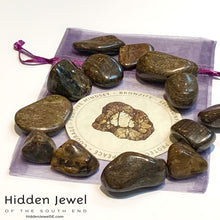 Load image into Gallery viewer, Bronzite Healing Stone Tumbles