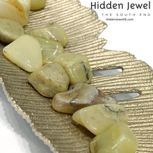 Load image into Gallery viewer, Olive Green Opal, healing Stone Tumbles