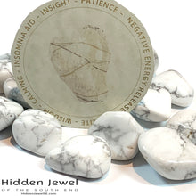 Load image into Gallery viewer, Howlite Healing Stone Tumbles