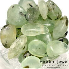 Load image into Gallery viewer, Prehnite healing Stone tumbles