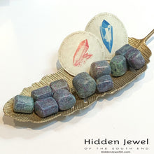Load image into Gallery viewer, Ruby Kyanite Healing Stone Tumbles
