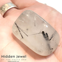 Load image into Gallery viewer, Tourmalinated Quartz Tumbles