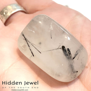 Tourmalinated Quartz Tumbles