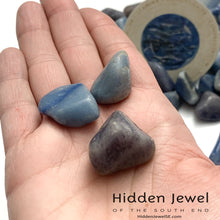 Load image into Gallery viewer, Dumortierite, healing Stone Tumbles