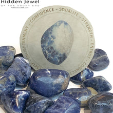 Load image into Gallery viewer, Sodalite Healing Stone Tumbles