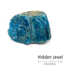 Load image into Gallery viewer, Blue Apatite Raw healing stone
