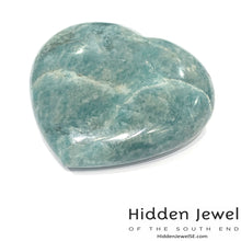 Load image into Gallery viewer, Amazonite  hearts Healing Stone