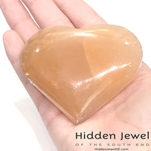 Load image into Gallery viewer, Selenite hearts Healing Stone