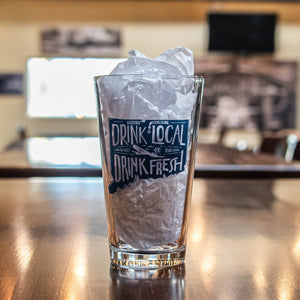 Drink Local Shaker Pint