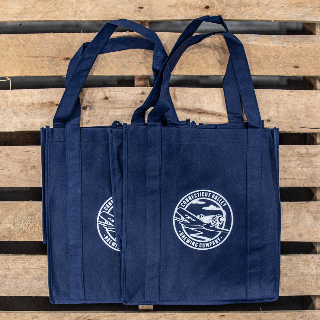 CT Valley Branded - Reusable Shopping Bags (Pack of 2)