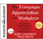 Audiobook CD -The 5 Languages of Appreciation in the Workplace
