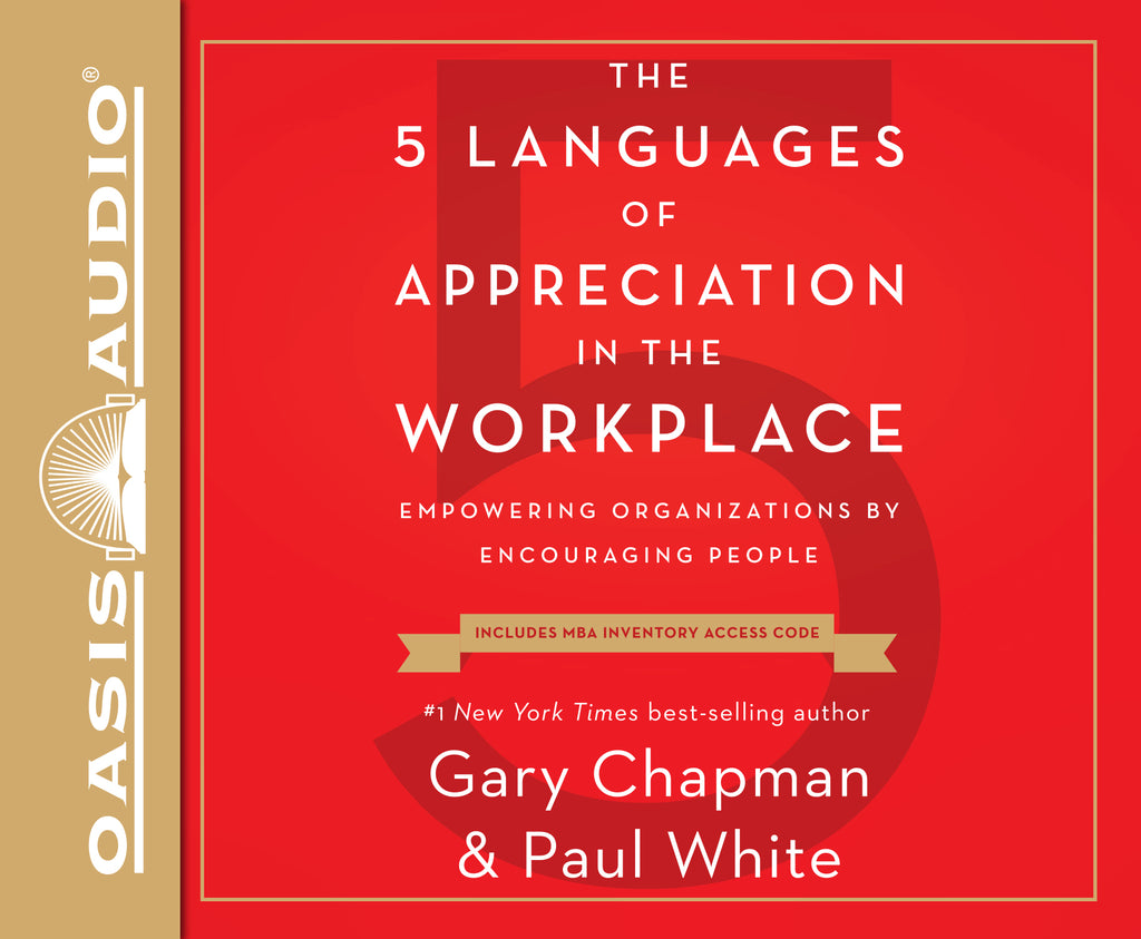 Audio Book CD - The 5 Languages of Appreciation in the Workplace (CFA)