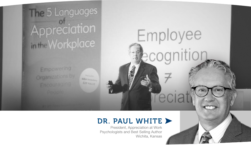 Book Dr. Paul White for your event