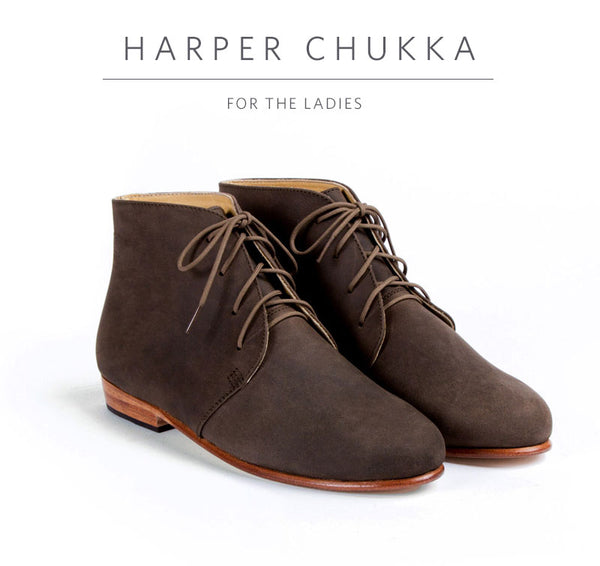 harper women's chukka boot