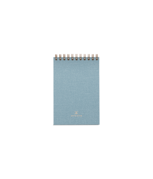 Appointed Pocket Notepad - Chambray Blue Lifestyle Appointed LLC