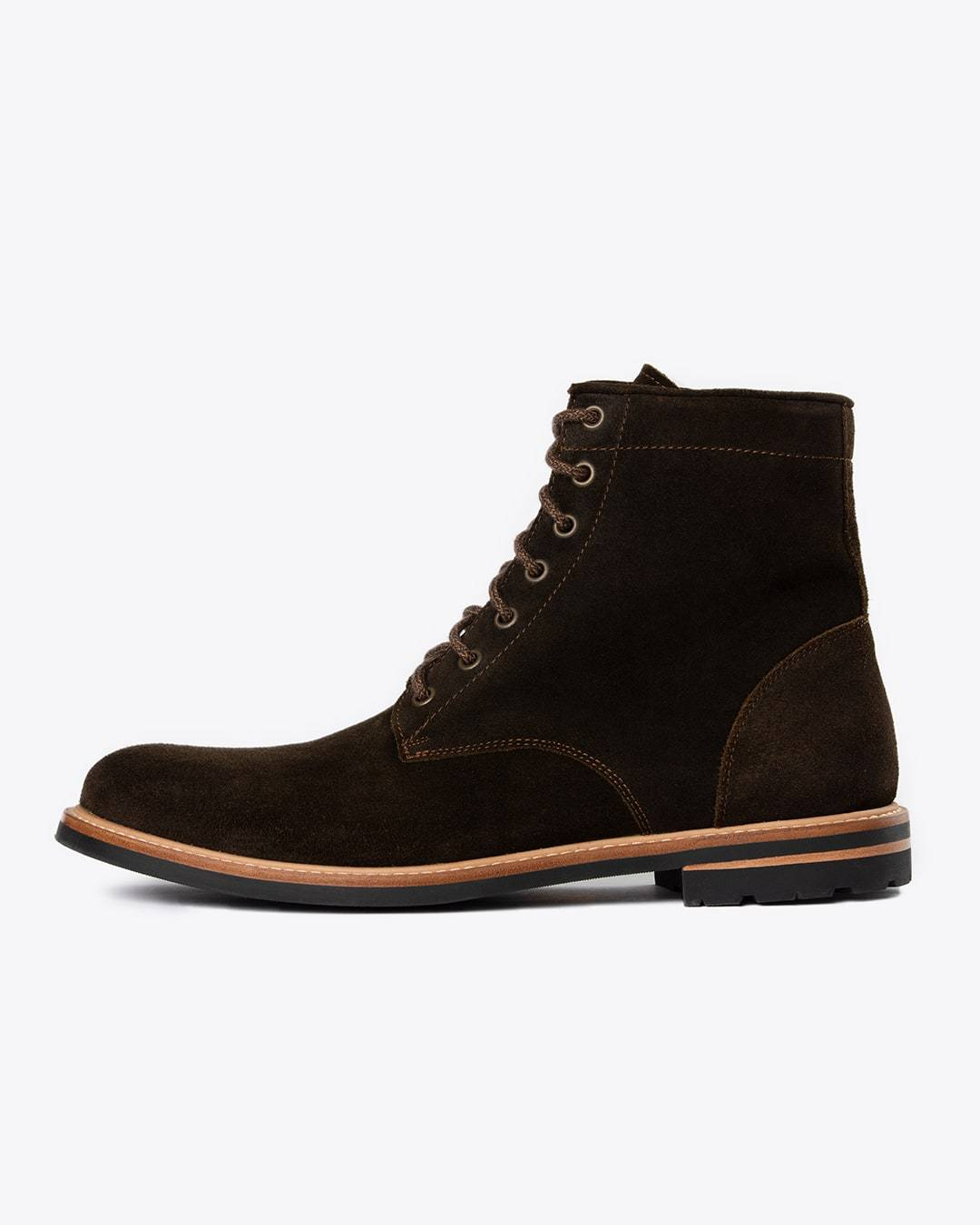 Andres All Weather Boot Dark Olive Men's Leather Boot Nisolo
