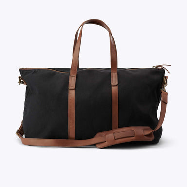 Nisolo - Canvas Weekender Black